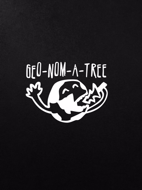 Geo-Nom-A-Tree Sticker