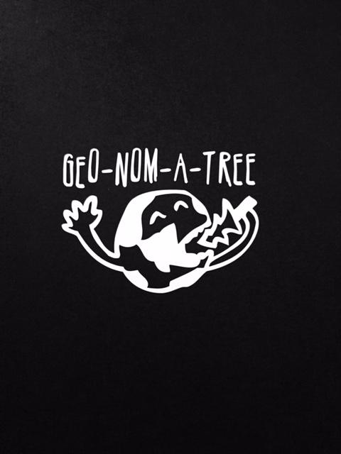 Geo-Nom-A-Tree Sticker