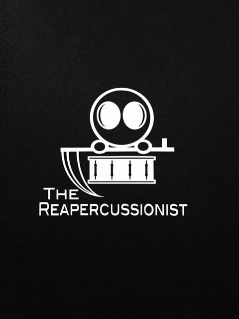 The Reapercussionist - Small Logo Sticker