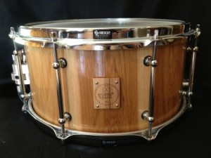 """002 - 7"""" x 13"""" Hickory Stave Snare"""