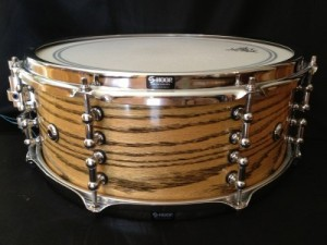 """005 - 5.5""""x14"""" Red Oak Ply Snare"""