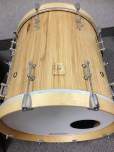 "007 - 18""x18"" Hickory Stave Bass Drum"