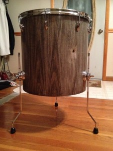 Poplar Floor Tom End Table