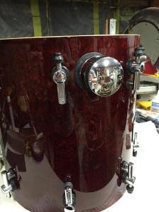 Sonor Designer Series Floor Tom Repair